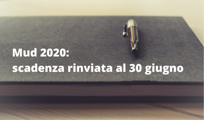 Mud 2020_ scadenza rinviata